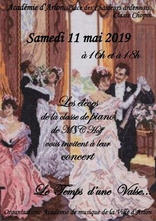 Concert : le temps d'une valse